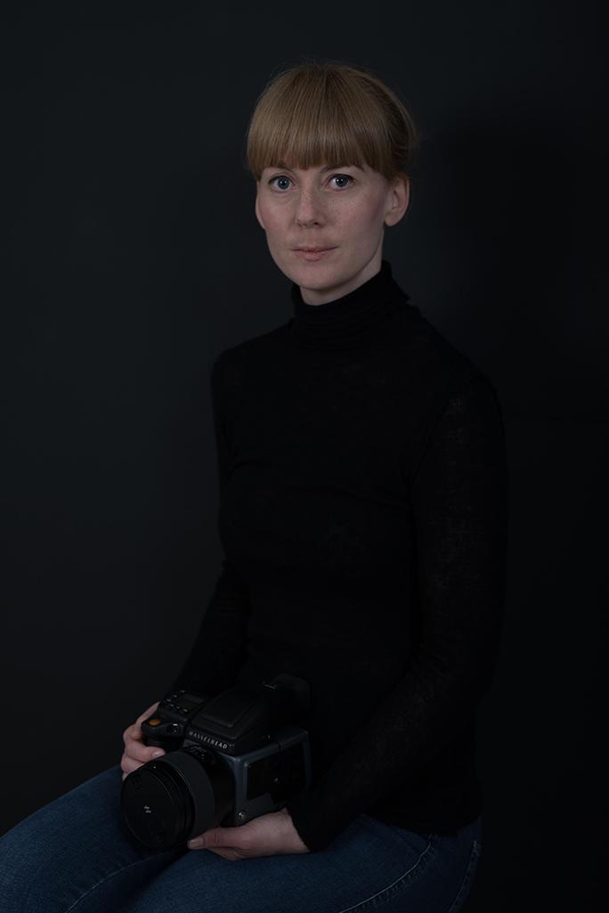 Selvportrett, Tina Signesdottir Hult
