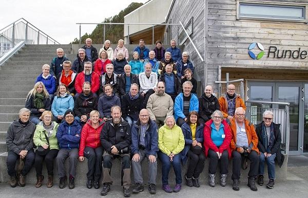 Deltagerne på fototreff i Ålesund 2019