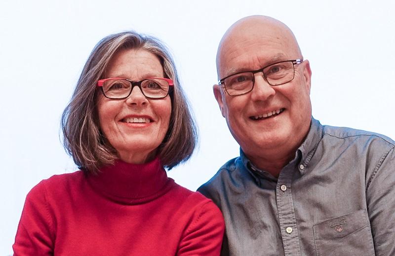 Anne-Christin Gjøsund og Stein Lauritsen i Ålesund Kameraklubb