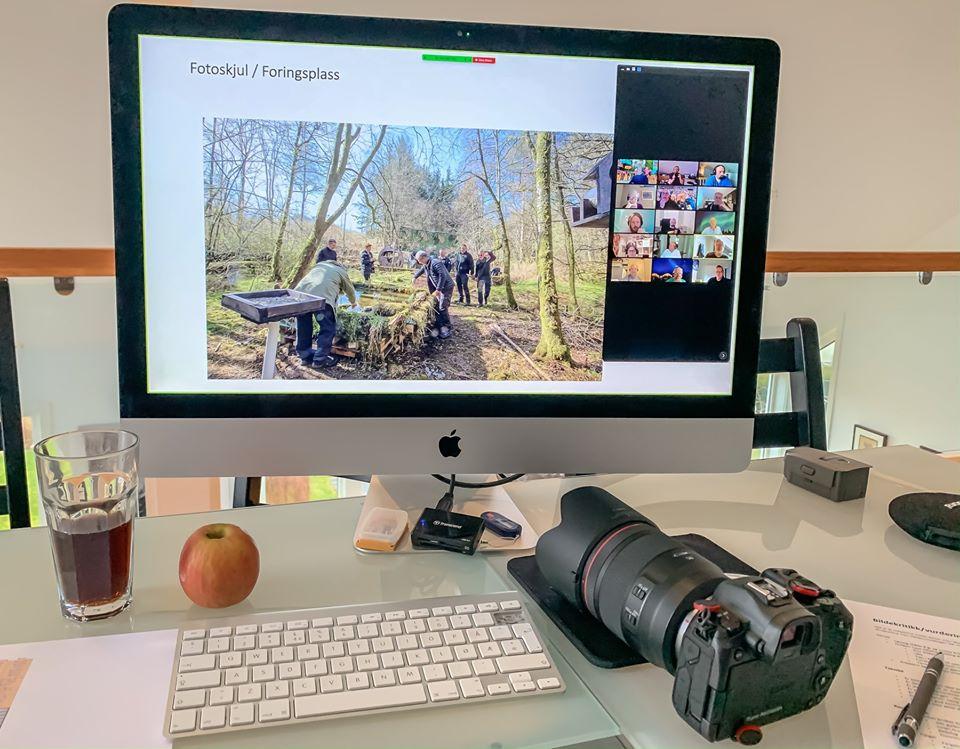 Online medlemsmøte med Stavanger fotoklubb