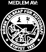 Medlem av NSFF logo, hvit