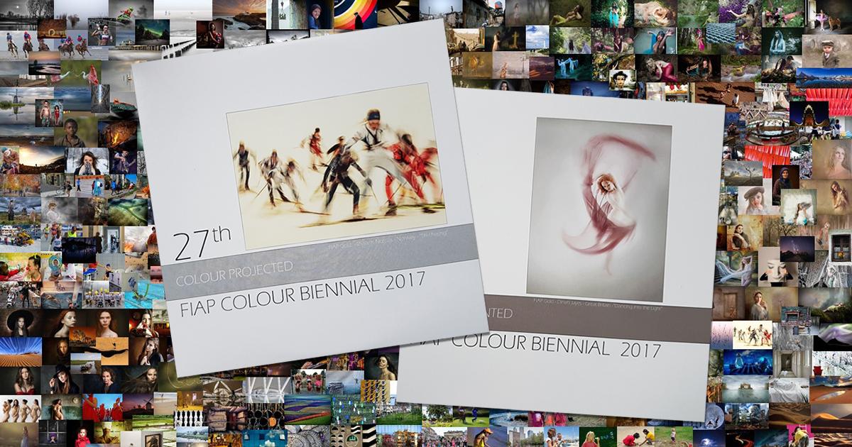 Kataloger fra 27th FIAP Color Biennial 2017