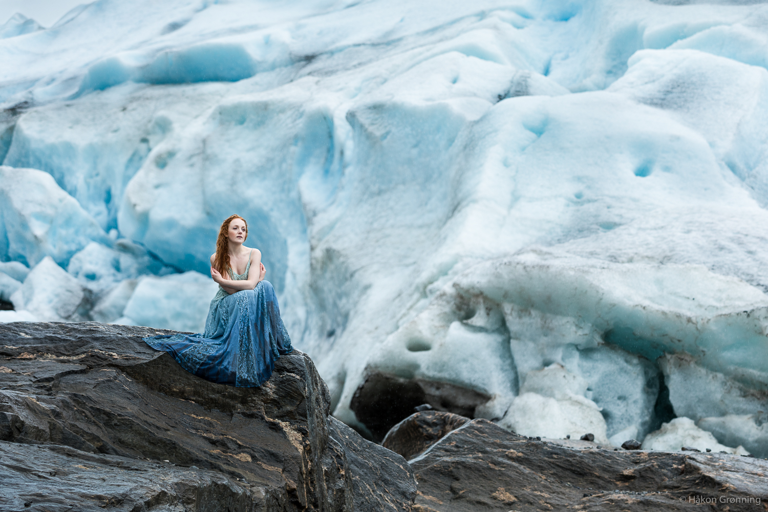 Princess of the glacier (Foto: Håkon Grønning)