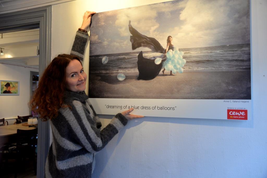 Anne F. Hagane (foto: Linda Dyrholm, Arendals Tidende)