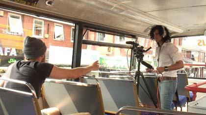 Filming på buss, båt, tog, bil eller ferge?