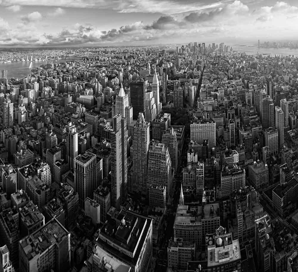 Downtown Manhattan Panorama--Leif Alveen