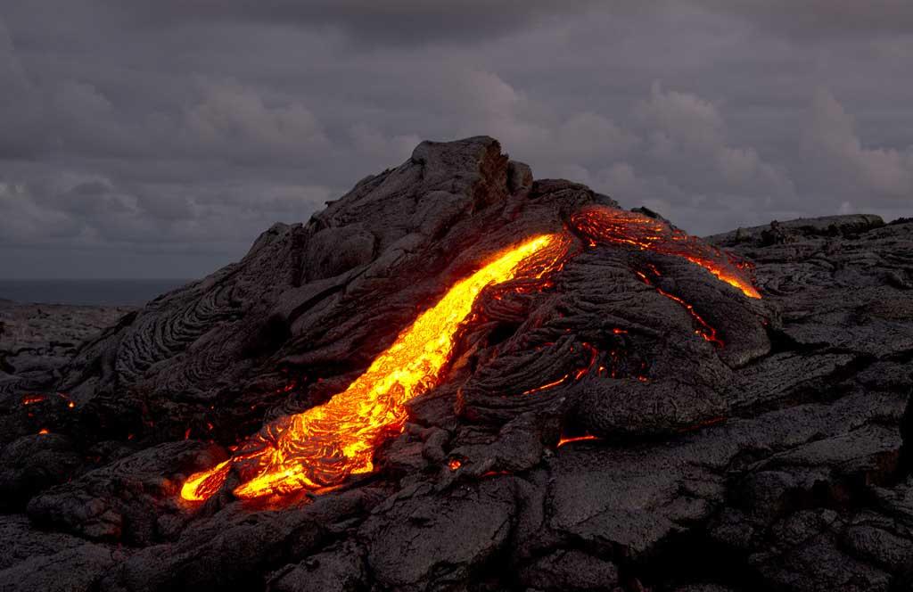 Pu'u O'o lava flow--Leif Alveen