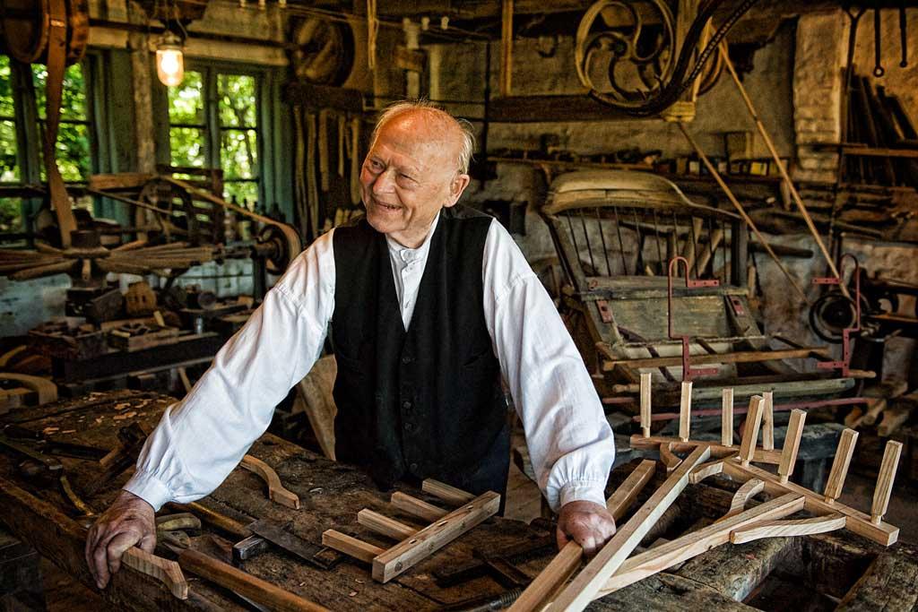 The old coachbuilder--Leif Alveen
