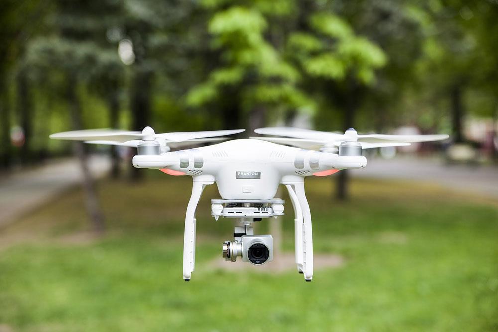 Flyvende filmkamera. Mine første erfaringer.