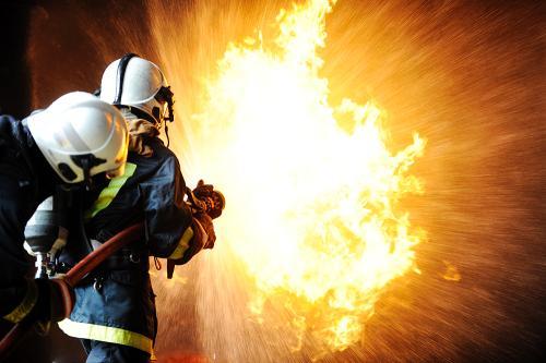 Dokumentarfilm: Da byen brant