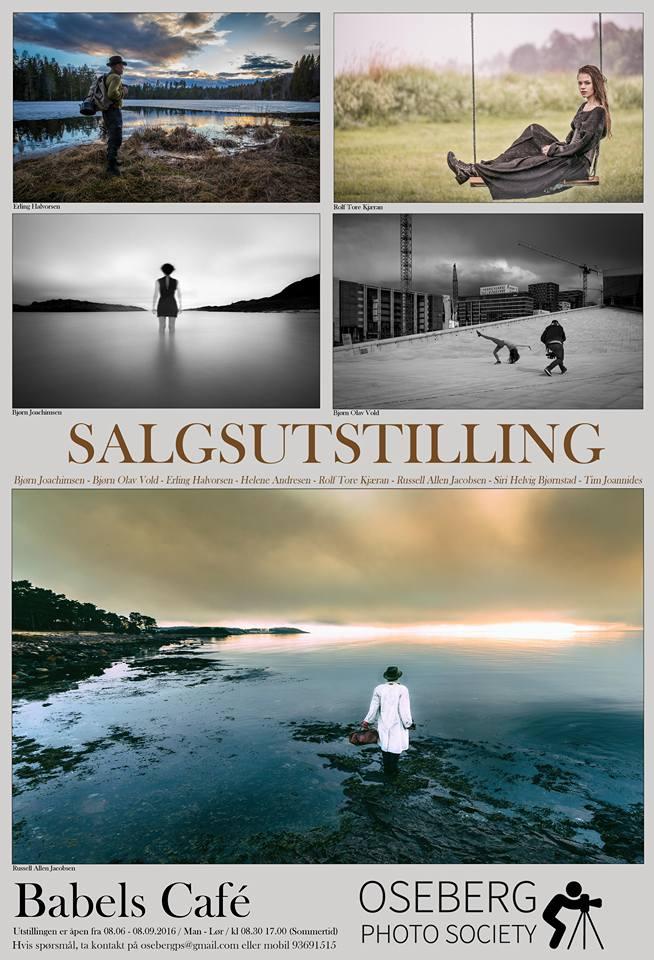 Oseberg Photo Society med salgsutstilling