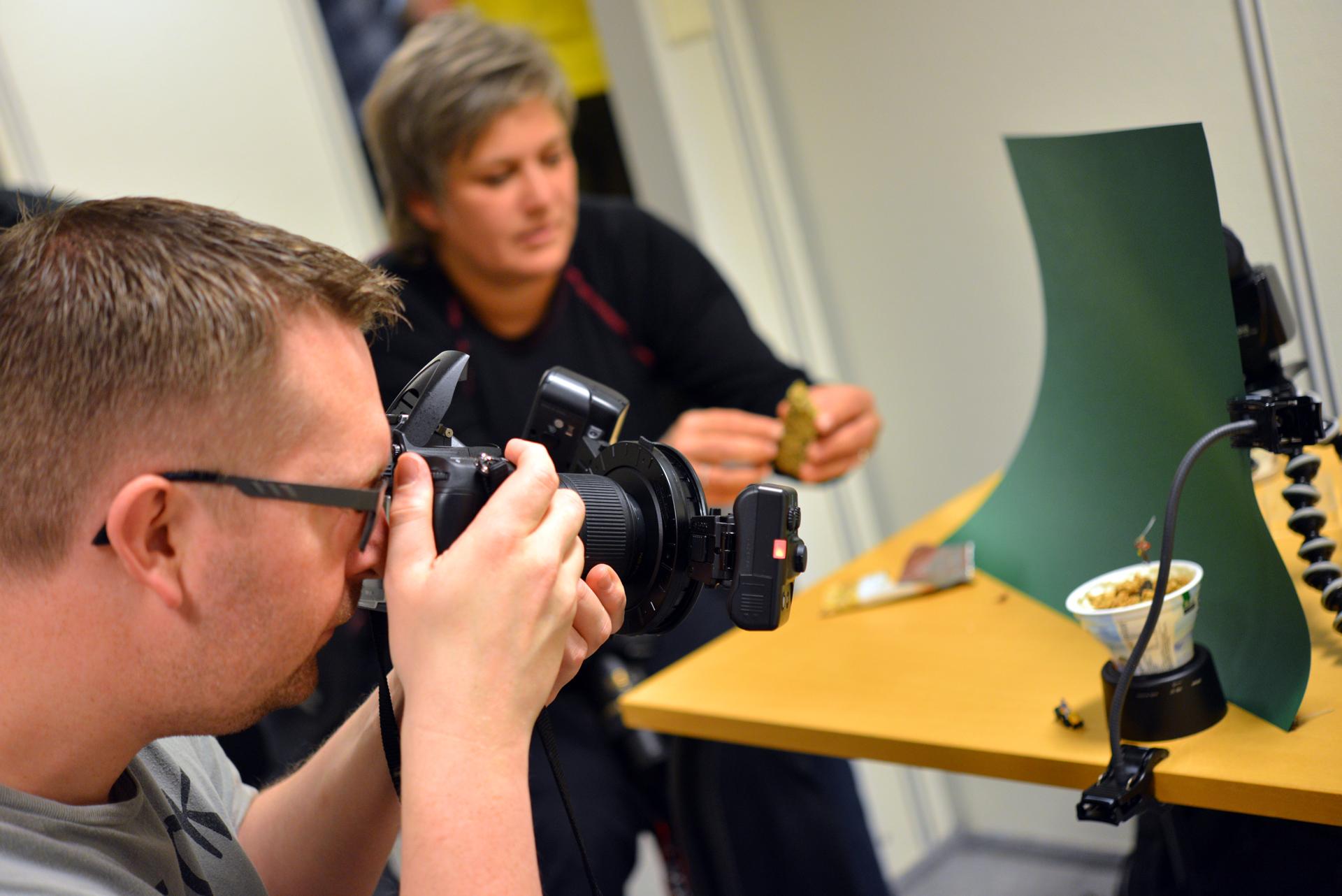 Arendal Fotoklubb, Roger Brendhagen. Foto: Birgit Fostervold
