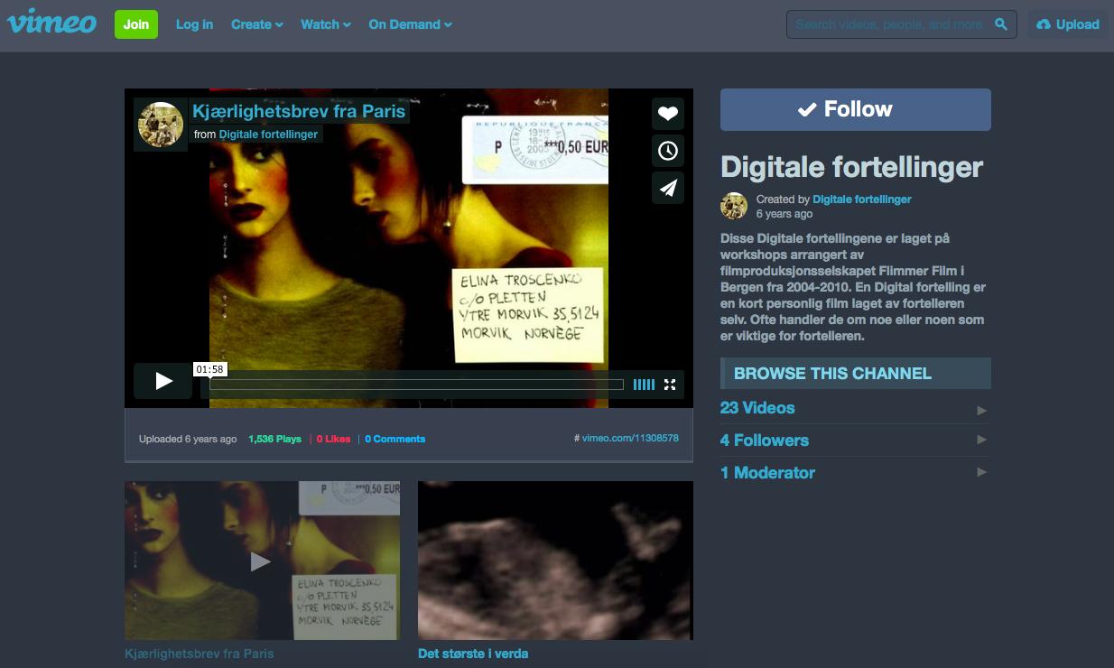 Hva er en digital fortelling?