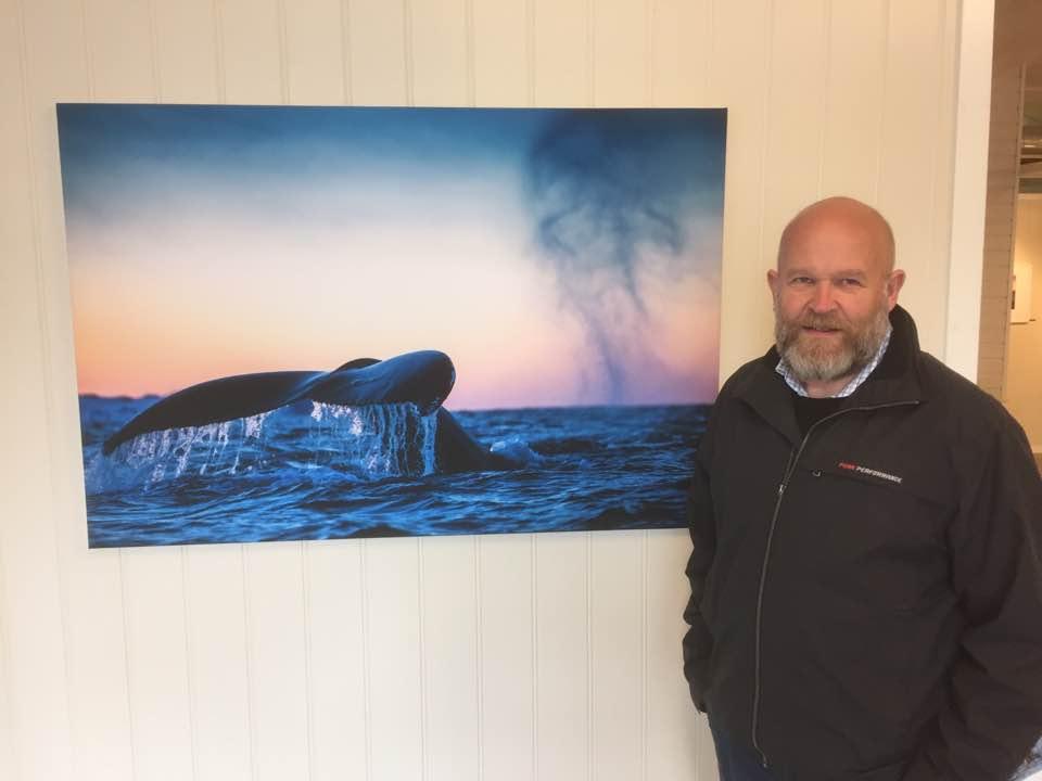 Per Ottar Walderhaug stiller ut under De Nordiske Jakt- og Fiskedagene