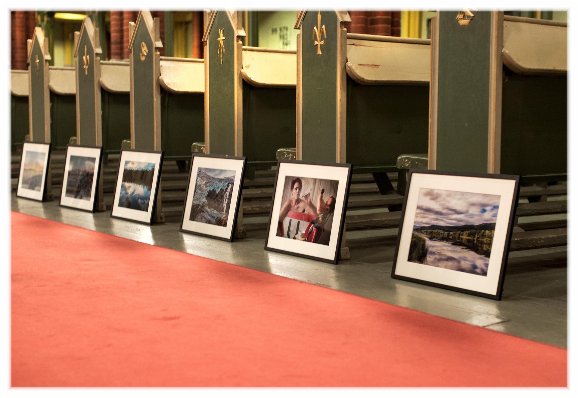 Drammen fotoklubb innleder jubileumsåret med utstilling i Bragernes kirke