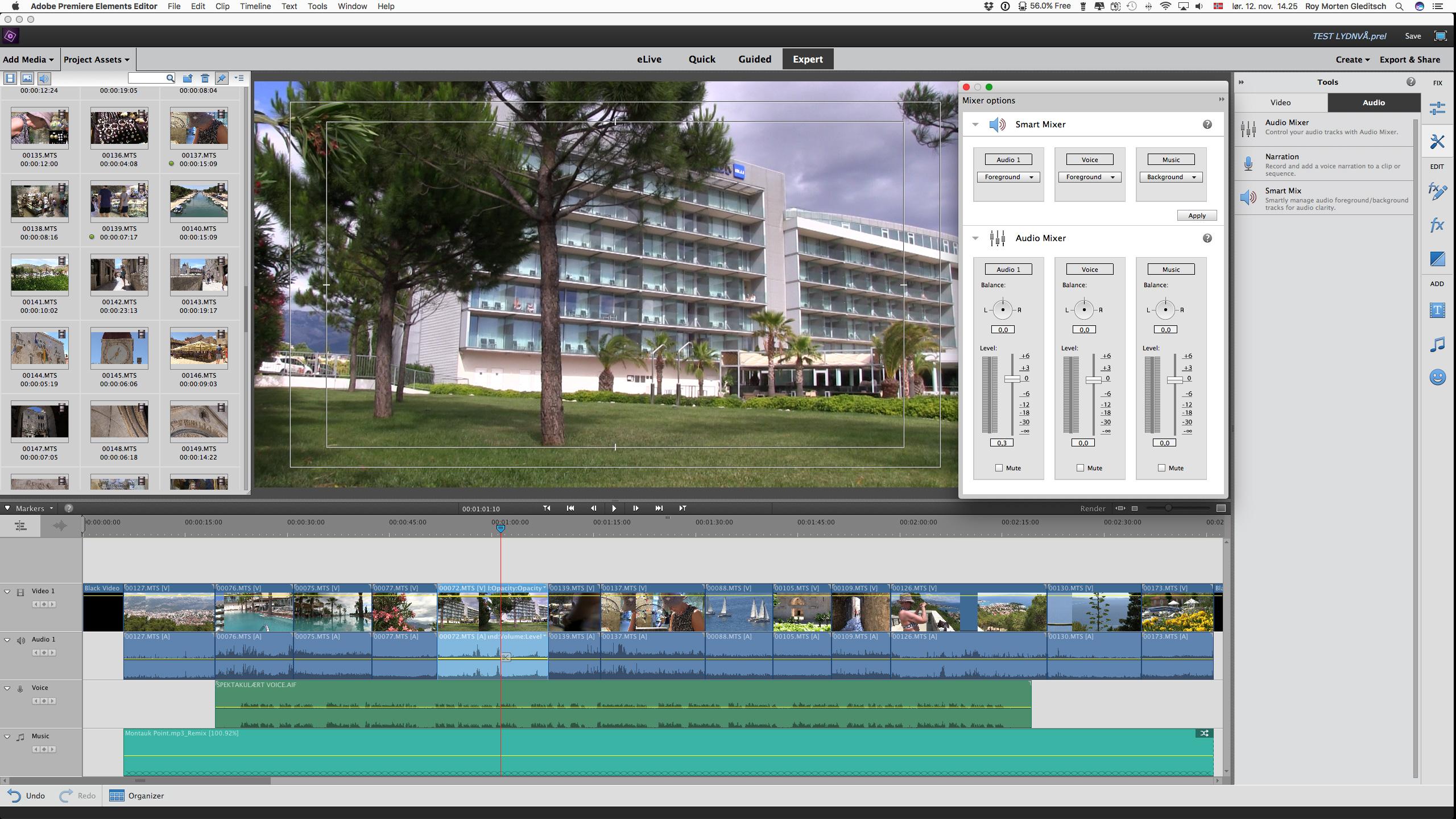 Kvalitetsikring av filmlyd i post-produksjon