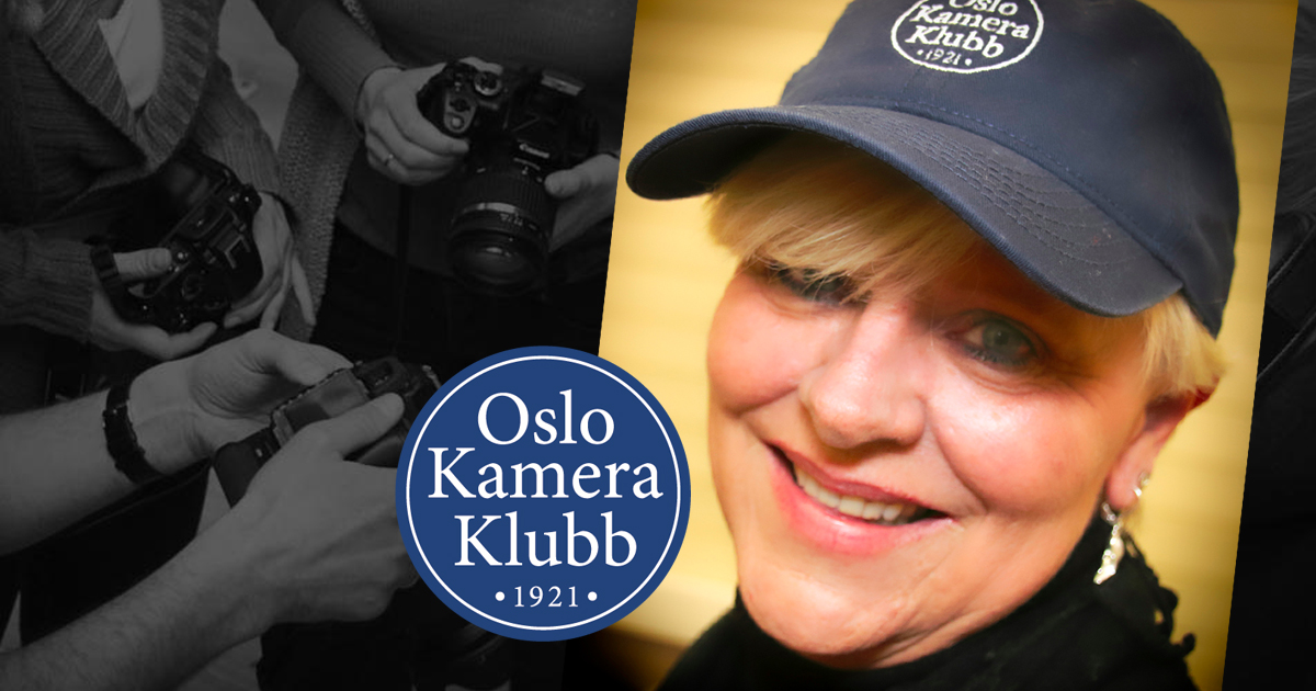 Janne Myhre Claassen nyvalgt leder av Oslo Kamera Klubb