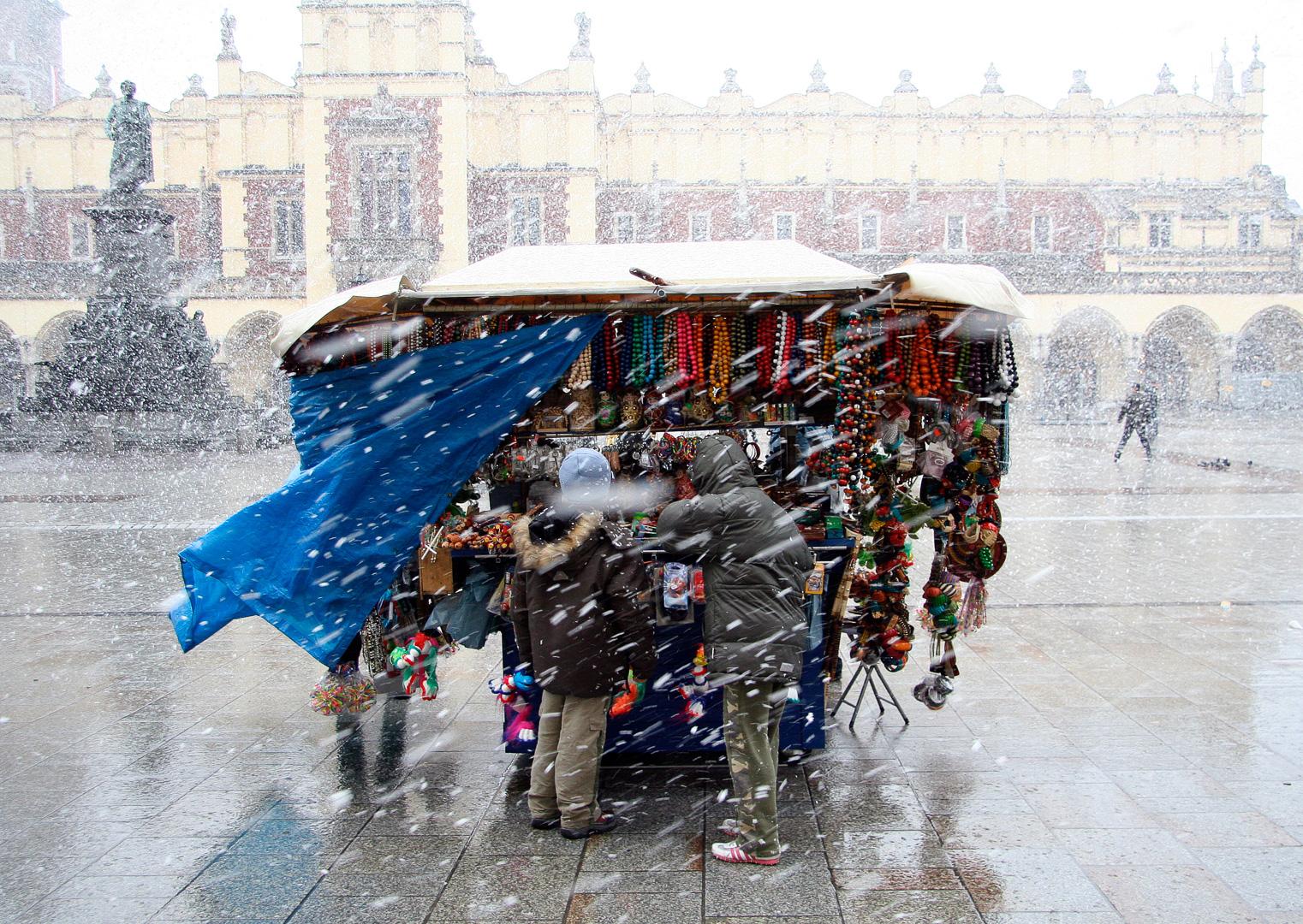 Winter in Krakow (foto: Roald Synnevåg)