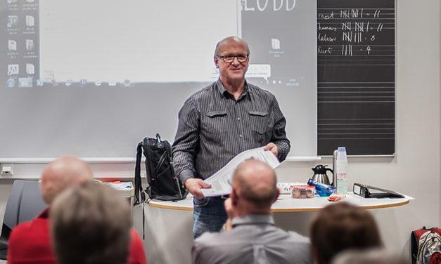 Våre kursholdere: Arnold Hoddevik