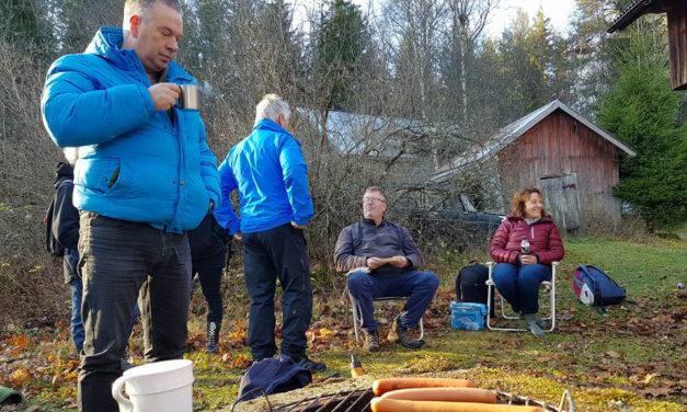 Vestfoldklubber på fellestur til Båstnäs