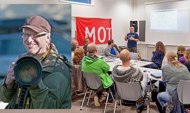 Arnold Hoddevik æresmedlem i Skodje Fotoklubb