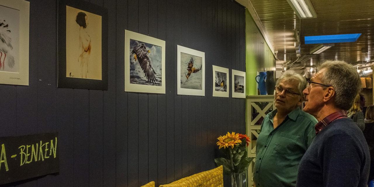 Kragerø Fotoklubb åpner kaféutstilling «Hos Gro»