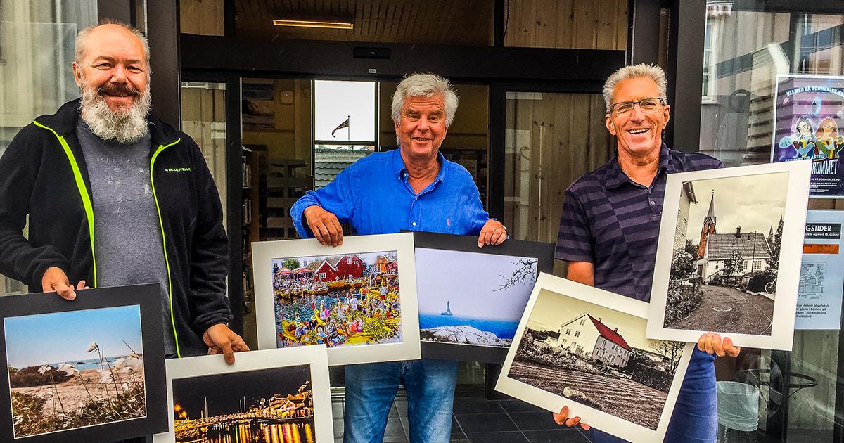 Kragerø Fotoklubbs utstilling med Kragerømotiver