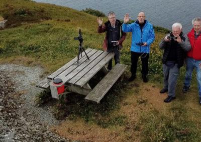 Gruppe fra Bergen Fritidsfilmere på tur