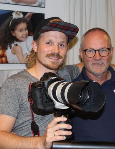 Kjetil og Arvid Løite (foto: Arnt Georg Arntzen)