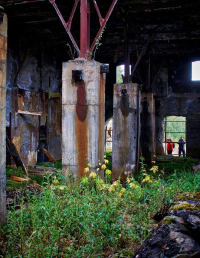 Røstvangen gruver. Foto: Ketil Plassgård