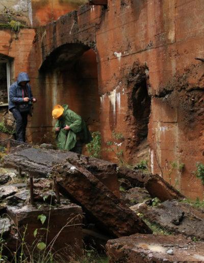 Røstvangen gruver. Foto: Bjørn Langleite