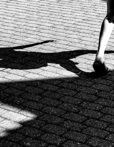 Just the shadow of a lady, Peter Elias Hoddevik