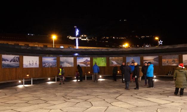 Narvik Kameraklubb med utandørsutstilling «Årstider i Arktis»