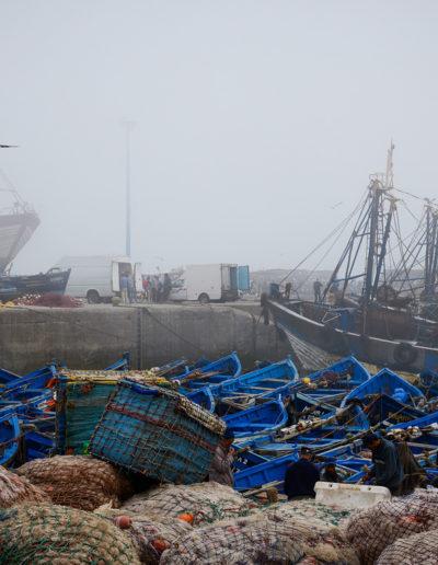 Anne Katharine Dahl: Fisherman in Essaouira