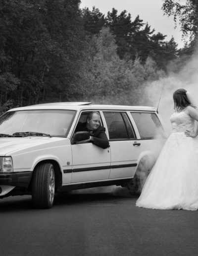 Atle Sveen: The groom and his Volvo