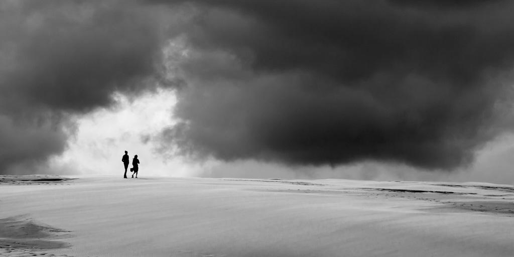 Bente Rosenberger Dybesland: Alone in the desert