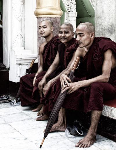 Frode Grindheim: Myanmar Munks