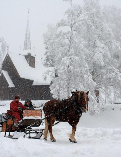 Jørgen Skaug: Snow in Lillehammer