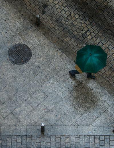 Walter Dragland: Green Umbrella