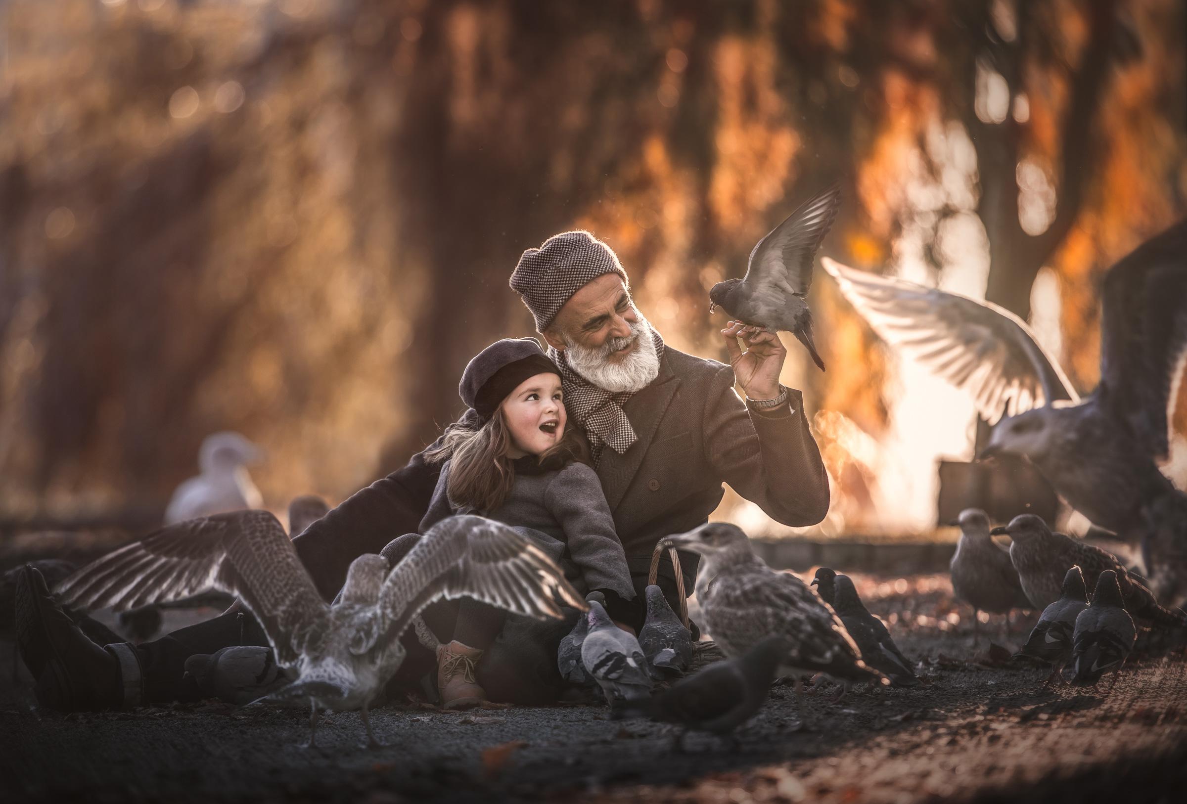 """Nina Carlsen """"A day in the park"""" - hederlig omtale vårrunden 2019, projeksjon farge"""