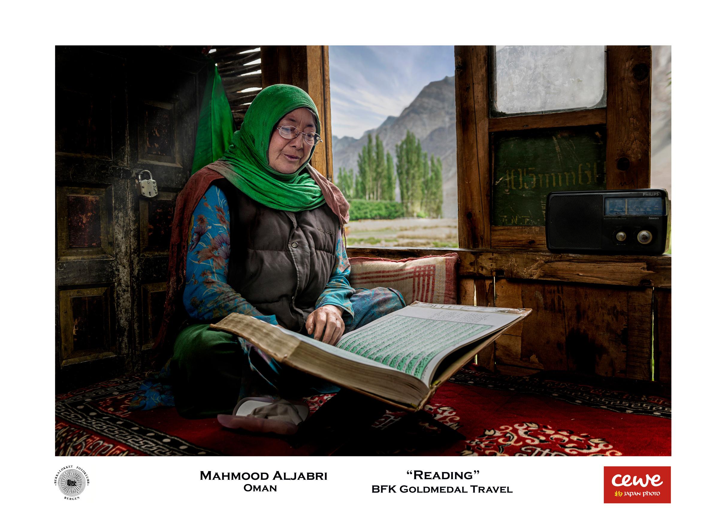 "BFK Gold travel: Mahmood Aljabri ""Reading"""