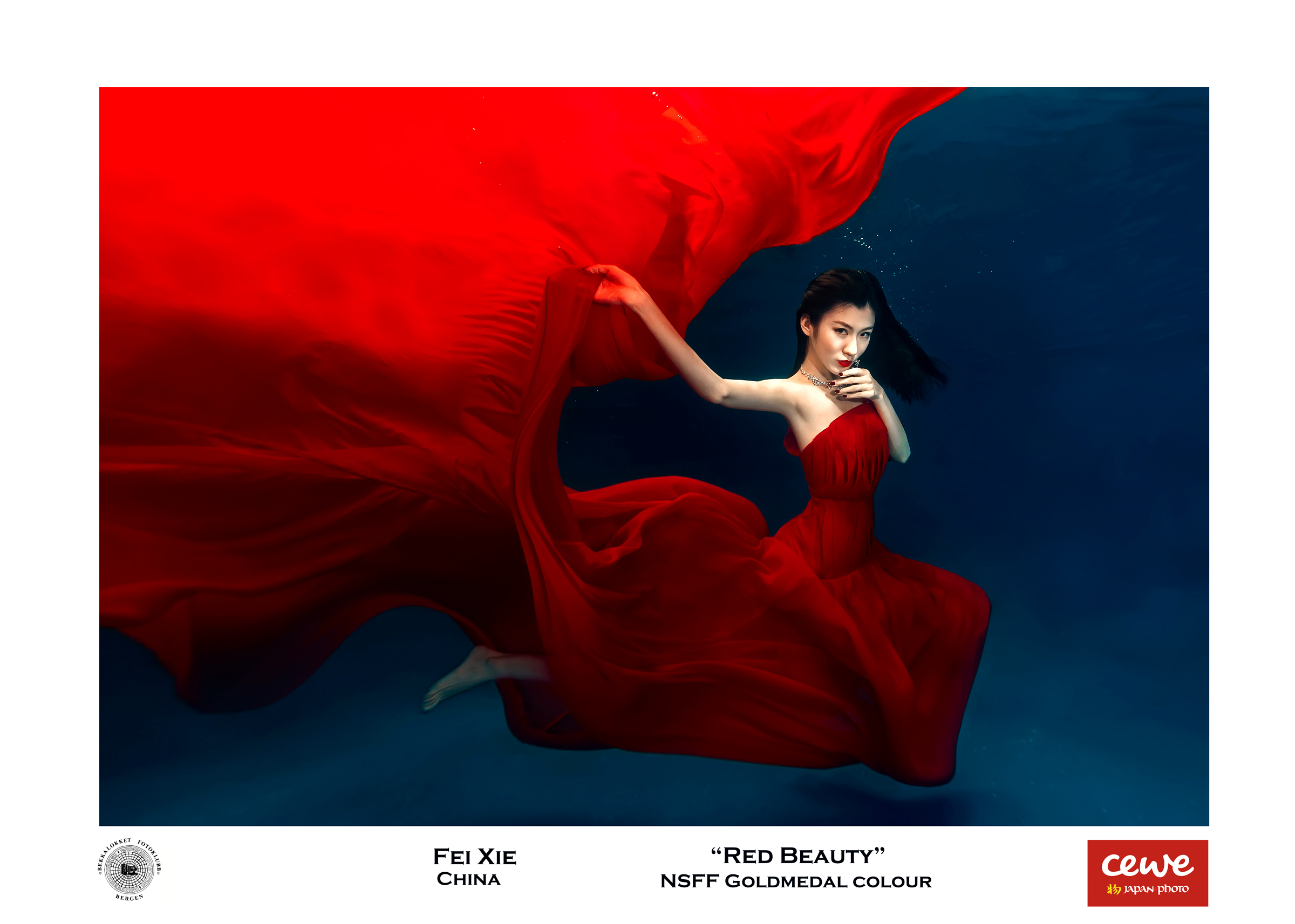 """NSFF Gold colour: Fei Xie """"Red beauty"""""""