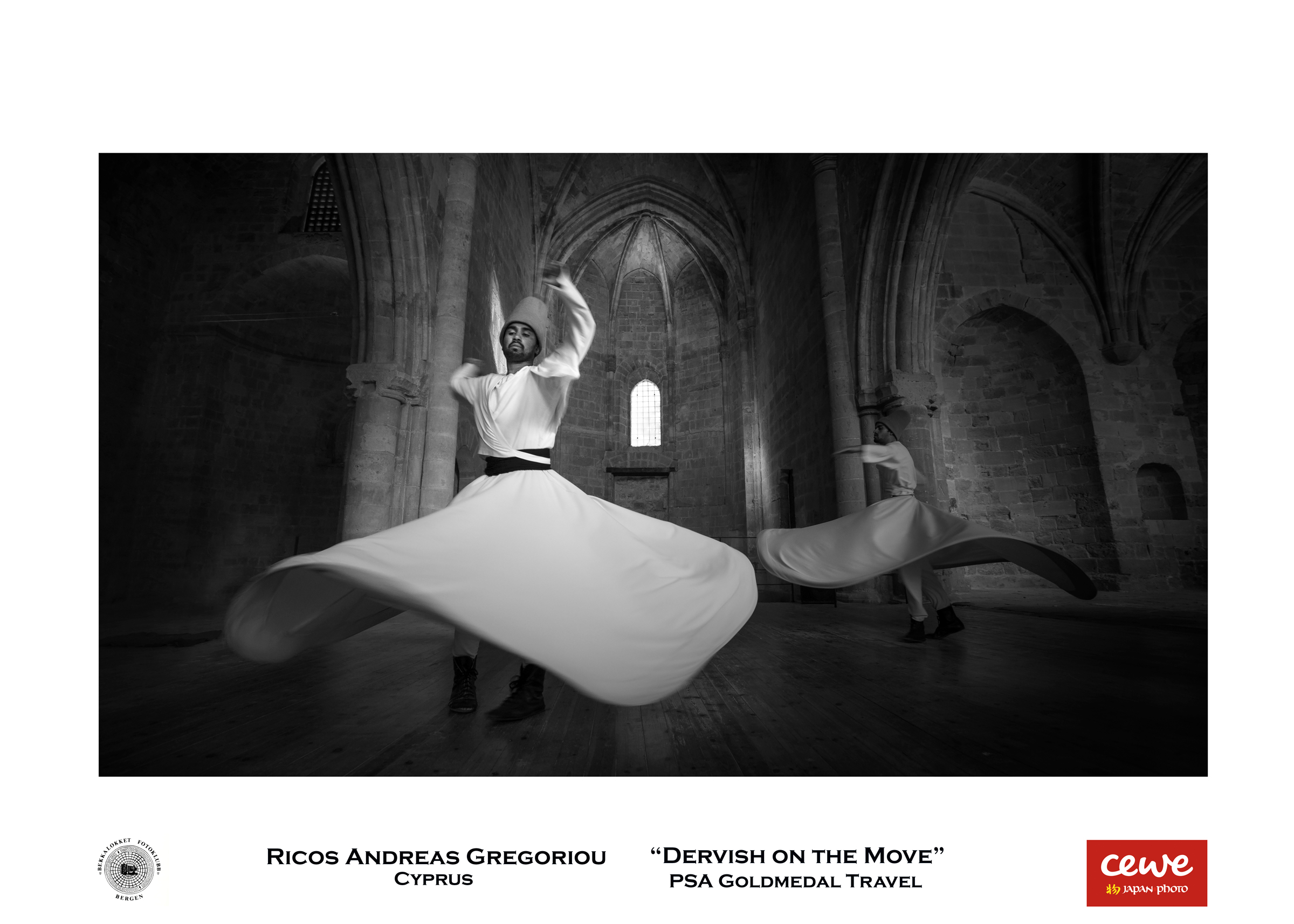 """PSA Gold travel: Ricos Andreas Gregoriou """"Dervish on the move"""""""