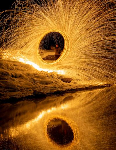 Fyr og flammer (Foto: Veronika Sund)