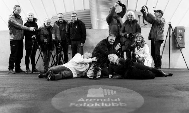 Arendal fotoklubb med dobbeltutstilling
