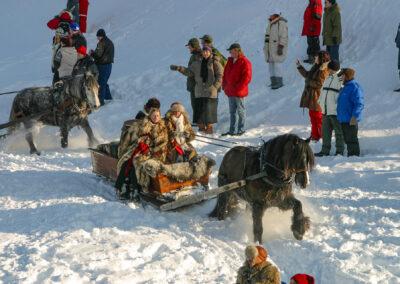 Med hest til Rørosmartnan