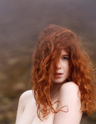 EFIAP-P Håkon Grønning: Portrait of Icelandic girl