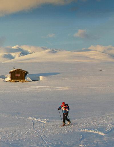 EFIAP-G Jørgen Skaug: Mountain cabins in Rondane