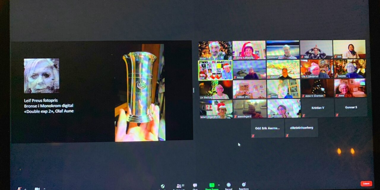 Trondhjems Kameraklubbs digitale koronaår