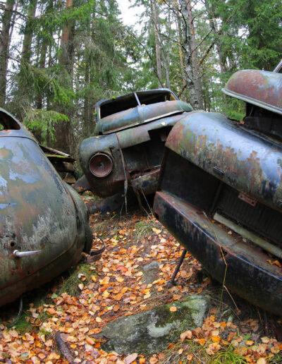 Styggpent søppel i svenske skoger